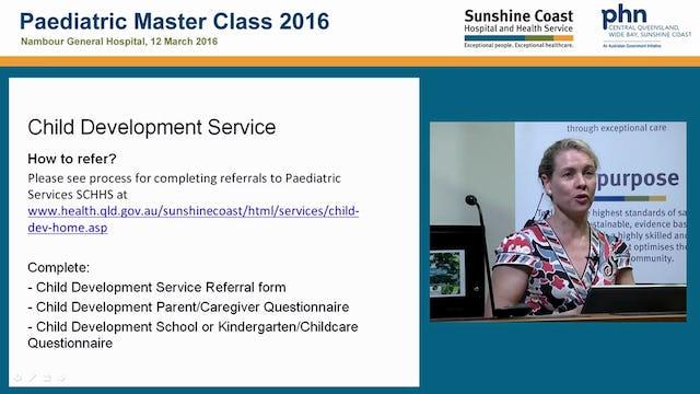 Child development service update Dr Heidi Webster