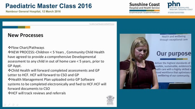 Healthcare facilitator for children in out of home care Ashleigh Miller