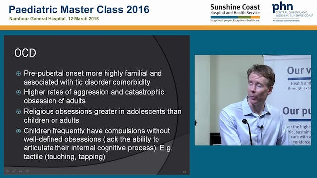 Paediatric Anxiety Disorders Dr Calum Campbell