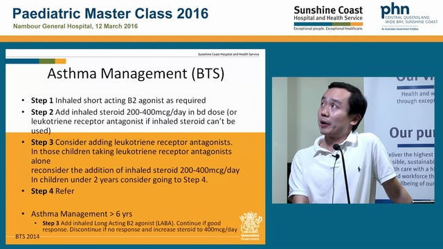 Paediatric Asthma Dr Tom Yap
