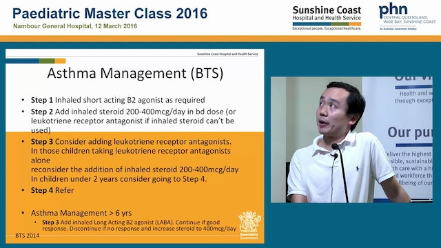Paediatric Asthma Dr Tom Yap