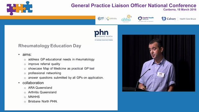 Going with the flow a GPLO's experience of clinical streaming Dr James Martin