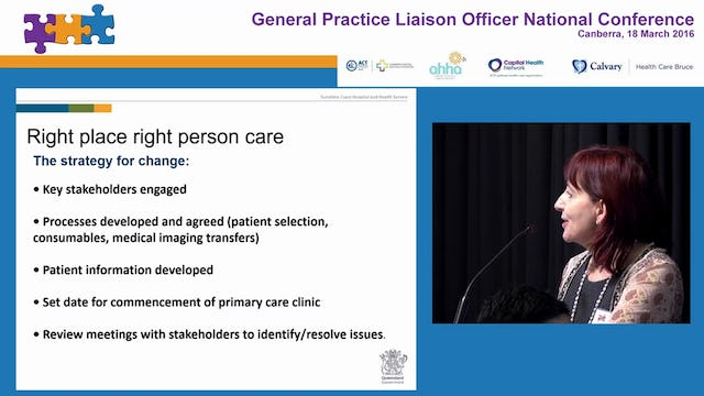 Right place right person care Dr Sandra Peters