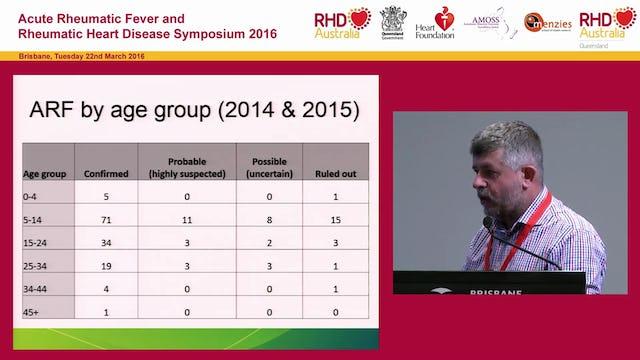 Acute Rheumatic Fever & Rheumatic Heart Disease, Queensland Dr Stephen Lambert