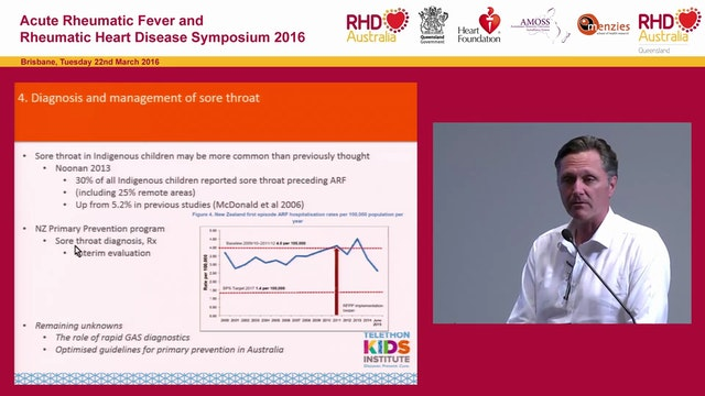 Advances in ARF, RHD Research and Tec...