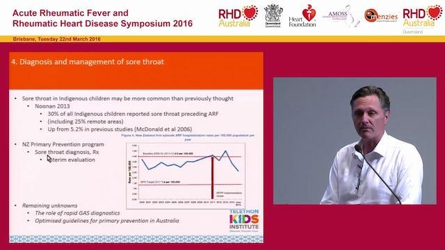 Advances in ARF, RHD Research and Technology Professor Jonathan Carapetis