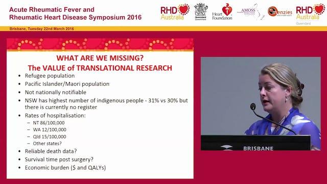 The Australian Rheumatic Fever strategy and the role of RHD Australia Clare Boardman