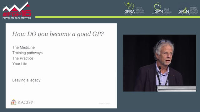 The Good GP Dr Frank R Jones RACGP President