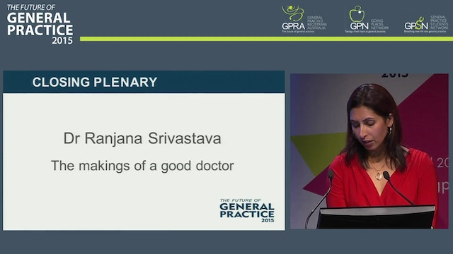 The Makings of A Good Doctor - Dr Ran...