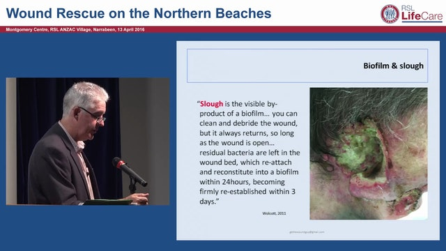 Wound infection, biofilms & antimcrobials Gary Bain