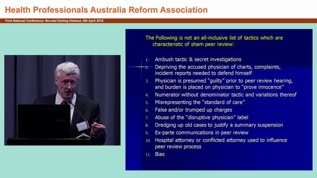 Sham peer review A worldwide phenomenon Larry Huntoon