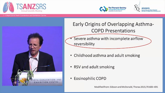 Early origins of adult onset asthma and ACOS Fernando Martinez, Arizona Respiratory Center, USA