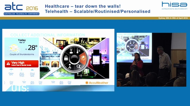 Combining health and fitness data for a better user centred healthcare AProf Valerie Gay and Dr Peter Leijdekkers Director and Technical Director, mobile Health Lab, University of Technology Sydney
