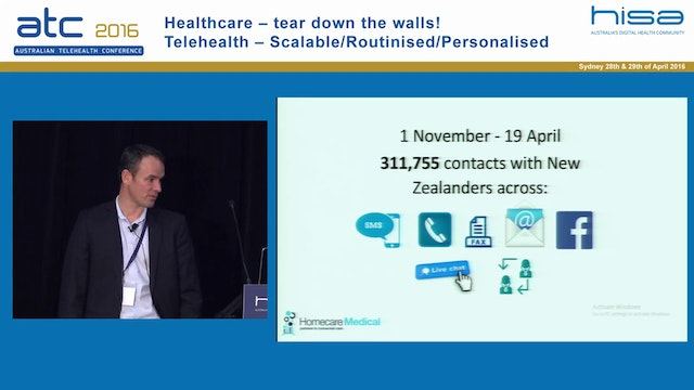 Making every health door the right door Paul Lambert, Programme Director, Homecare Medical (New Zealand)