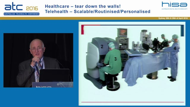 Scaling up telehealth - the Nepean Telehealth Centre Prof Mohamed Khadra Professor and Head of Surgery, Sydney Medical School