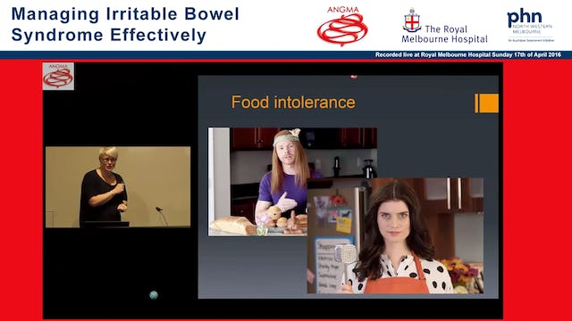 Irritable bowel syndrome Overview and Physiological Testing Rebecca Burgell