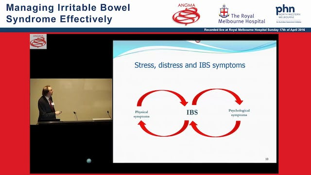 IBS The role of the Psychologist Simon Knowles