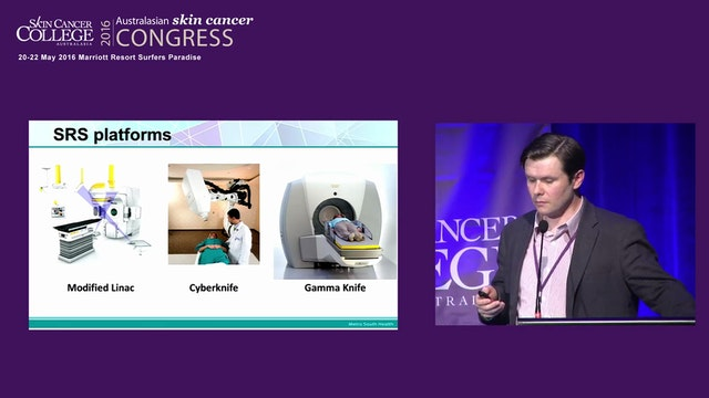 Gamma knife radiosurgery for melanoma brain metastases Mark Pinkham