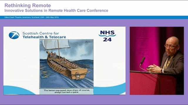 Remote healthcare Current challenges Future Solutions Professor James Ferguson