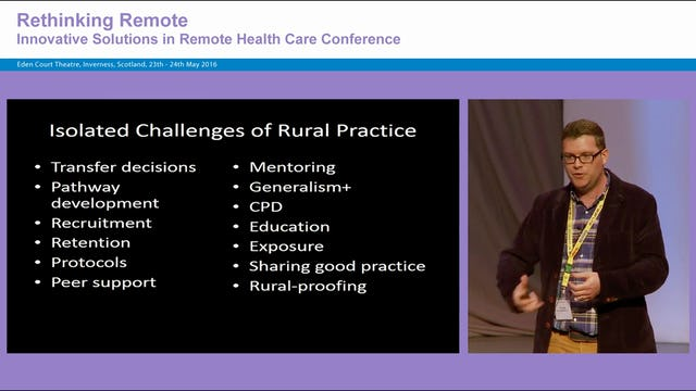 The Answers are Out There!  Finding Solutions in International Collaboration David Hogg, Rural GP, Isle of Arran and Phil Cotton, University of Rwanda