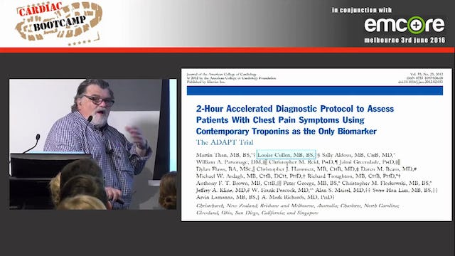 Chest Pain scores and what do they mean A Prof Peter Kas