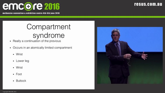 Crush Syndrome A Prof Shane Curran ED...