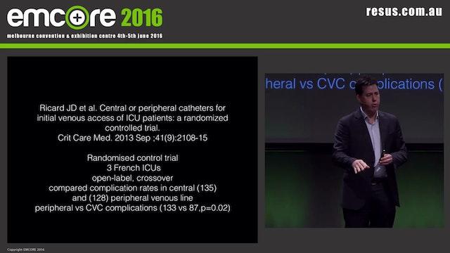 Peripheral vasopressors Dr James Edwa...