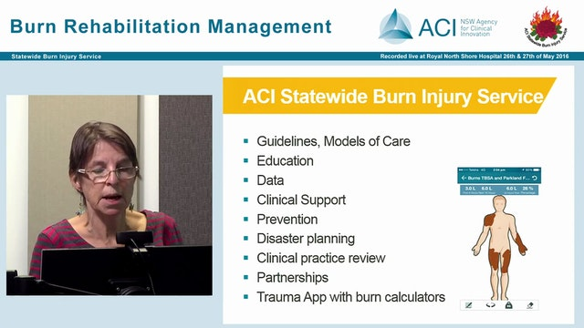 Introduction to ACI Statewide Burn Injury Service Anne Darton
