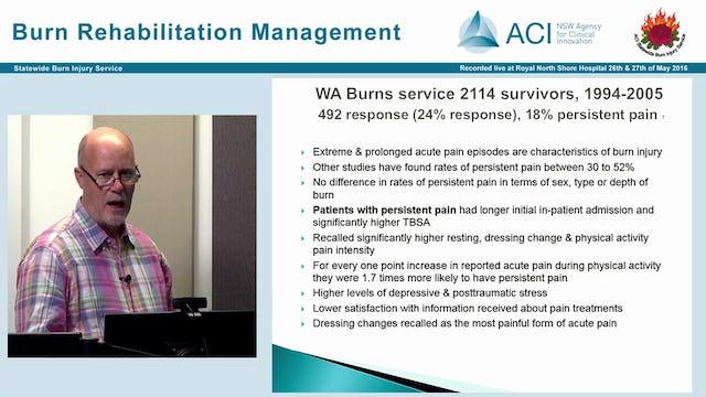 Pain Management after Burn Injury John Turner