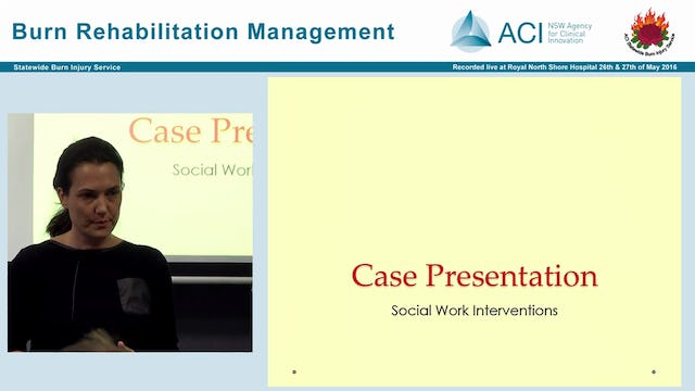 Psychosocial impact and management of burn injuries Julia Kwiet