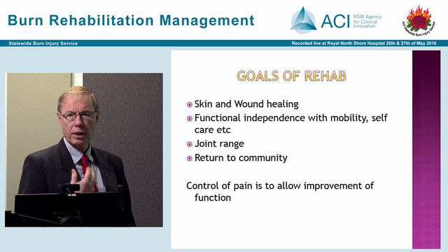 Rehabilitation in the burn injury con...