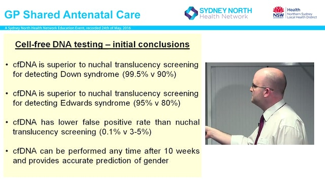 Non-Invasive Prenatal testing - where...