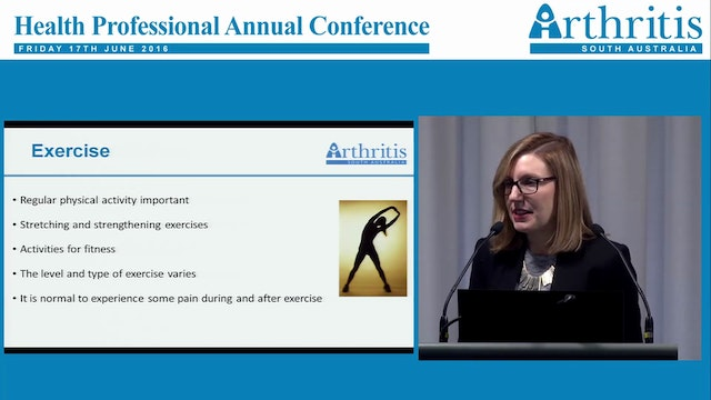 Arthritis in young women Dr Rachel Bl...