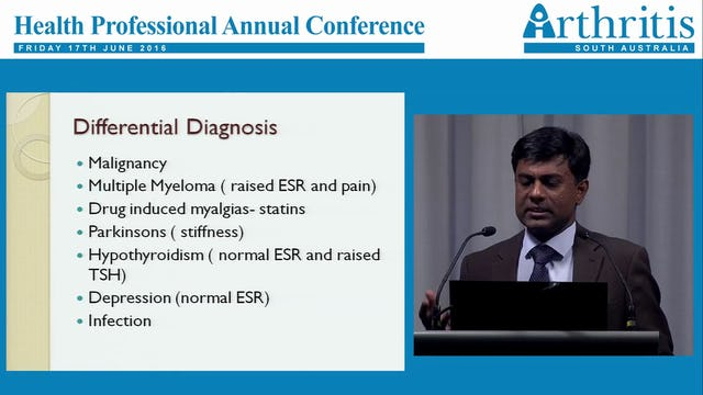 Polymyalgia Rheumatica- Management and Research Update Dr Jem Ninan