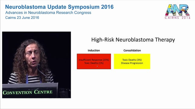 Improving outcomes in High Risk Neuroblastoma Professor Julie Park Seattle Children's Hospital