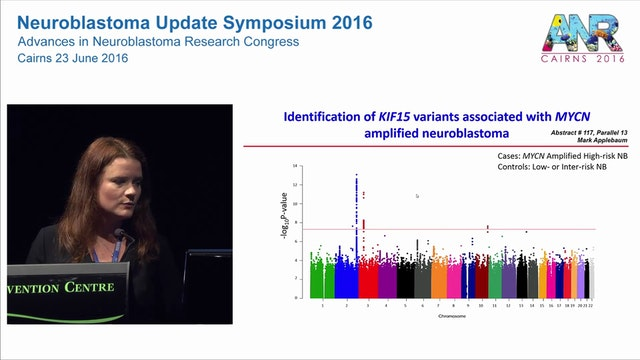 Overview of neuroblastoma epidemiology and genetic predisposition Dr Sharon Diskin Children's Hospital of Philadelphia, USA