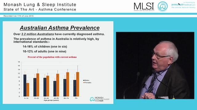History of Asthma in Australia