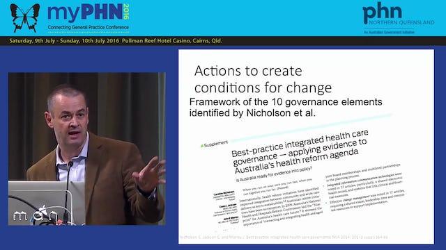Intergration Foundations: The Queensland Clinical Senate experience Dr David Rosengren