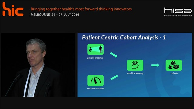 Measuring patients outcomes using cohort analysis Ian Tebbutt