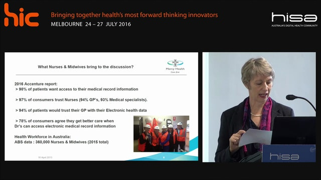 Nursing midwifery leadership and health informatics Alison Patrick