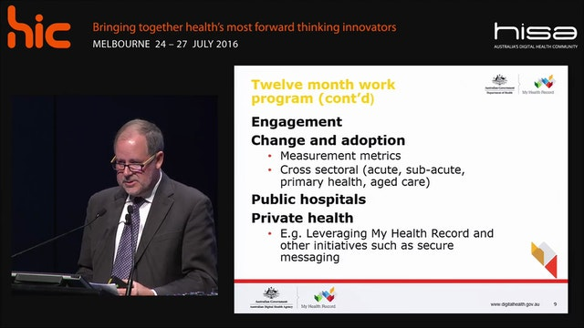 Australia's National Digital Health Strategy  Richard Royle
