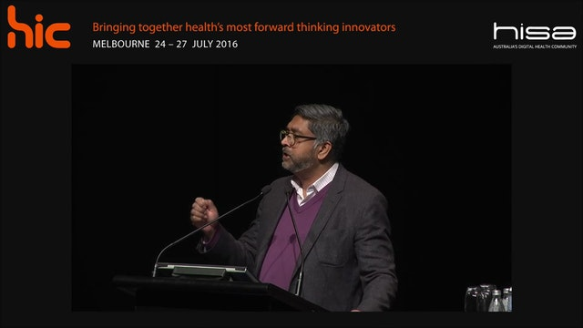 Health's opportunity to take advantage of the innovation agenda Dr Pradeep Philip