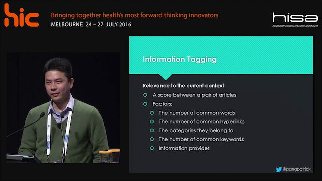 Finding and exploring health information with a slider based user interface Patrick Cheong-lao Pang