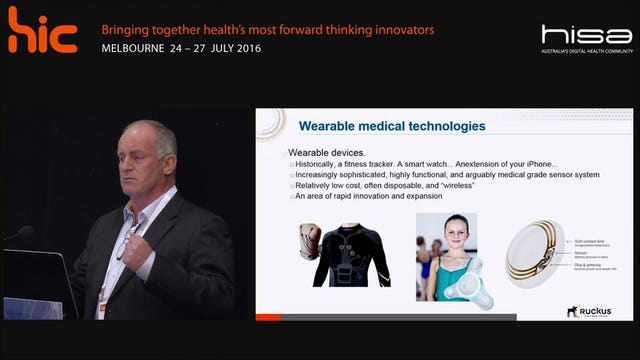 Leveraging location services, wearables and analytics to enhance patient care Andrew Cook