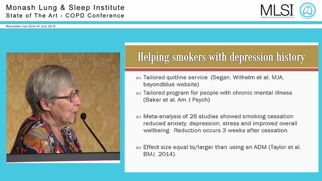 Anxiety and depression in COPD Prof Kay Wilhelm