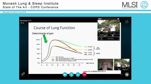 Is COPD always progressive Prof Barto...