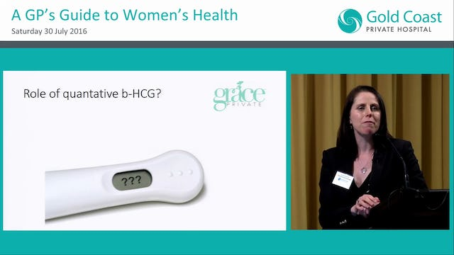 Early pregnancy complications Dr Tina Fleming