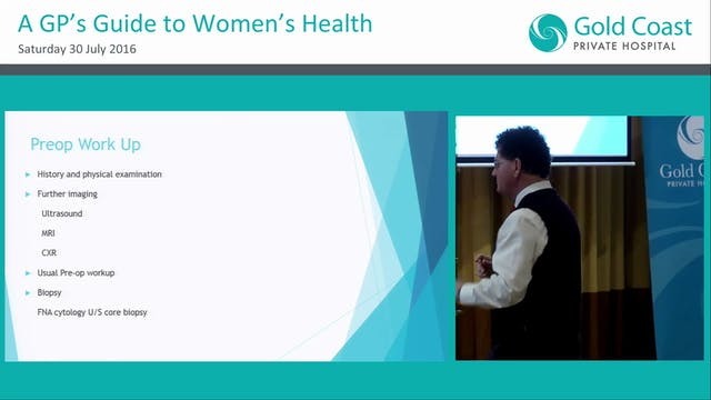 Management of early breast cancer Dr Geoffrey Miller
