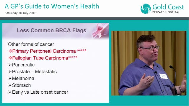 Identifying families at increased risk for breast and ovarian cancer Dr Stephen Withers