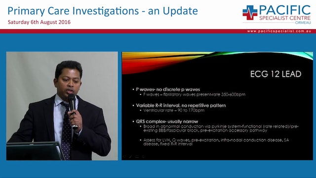 Atrial Fibrillation Investigations and Management Dr Raj Mohan Cardiologist Gold Coast University Hospital